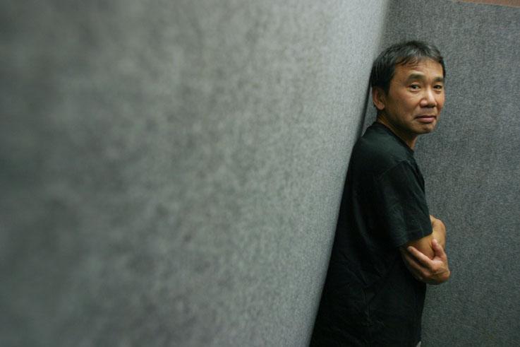 Haruki Murakami, writer, novelist and essayist. Tokyo, Japan.